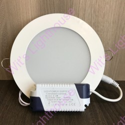 LED Downlight - 12W, Round, Recessed