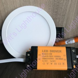 LED Downlight - 8W, Round, Recessed