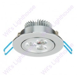 LED Downlight - 3W, Round, Recessed