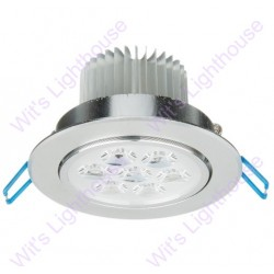 LED Downlight - 7W, Round, Recessed