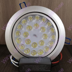 LED Downlight - 24W, Round, Recessed, Daylight (6000K)