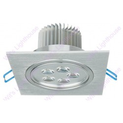 LED Downlight - 5W, Square, Recessed